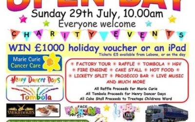50th Anniversary Open Day 29th July 2018 Everyone Welcome
